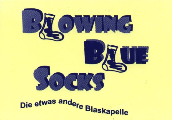 Logo der Blowing Blue Socks